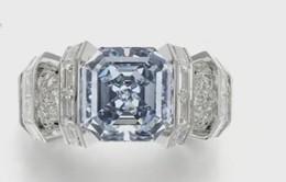 Rao bán chiếc nhẫn kim cương xanh giá 25 triệu USD