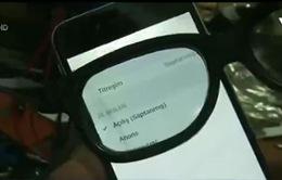 Màn hình điện thoại tránh con mắt tò mò