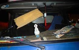 Nhiều ô tô bị ném đá trên đường cao tốc TP.HCM - Long Thành - Dầu Giây