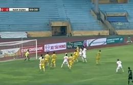 Giải bóng đá hạng nhất quốc gia: Nam Định và Viettel chia điểm