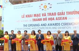Trao giải và Triển lãm tranh đồ họa các nước ASEAN lần thứ 2