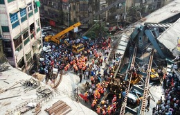Sập cầu vượt tại Ấn Độ: Số nạn nhân thiệt mạng tăng lên 22 người