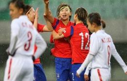 ĐT bóng đá nữ Việt Nam thua đậm trước ĐT Hàn Quốc