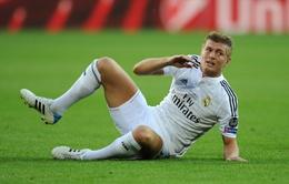 Toni Kroos nghỉ hết năm, vắng mặt tại Siêu kinh điển