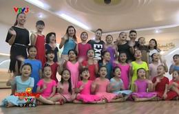 Trung tâm dancesport của Khánh Thi thu hút hàng trăm em nhỏ theo học