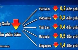 Việt Nam ít chịu tác động từ giảm tốc kinh tế Trung Quốc