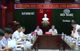 Lãnh đạo tỉnh Thừa Thiên - Huế kiểm tra xây dựng nông thôn mới