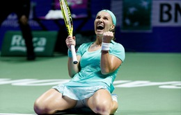 WTA Finals bảng trắng: Kuznetsova giành vé vào bán kết