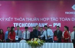 Techcombank và PVI ký kết thỏa thuận hợp tác toàn diện