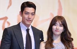 """Suzy ngượng ngùng vì """"cặp"""" với """"đối thủ"""" của Lee Min Ho"""