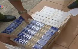 Bắt giữ gần 3.000 gói thuốc lá nhập lậu tại Bình Dương