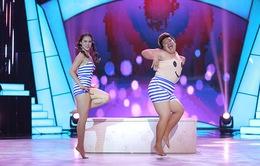 Đây là cách thí sinh Bước nhảy ngàn cân làm khán giả ngỡ ngàng khi nhảy với... bồn tắm