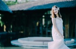 Lan Phương khoe vẻ đẹp tinh khôi cùng VTVtrip