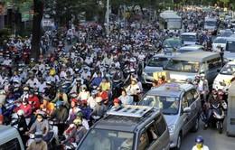 TP.HCM: Hỗn loạn giao thông ở cửa ngõ sân bay Tân Sơn Nhất vì kẹt xe