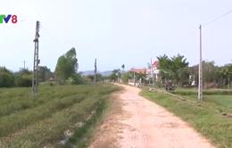 Người dân miền Trung rời bỏ làng do nắng hạn