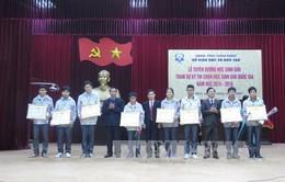 Nam Định chú trọng tuyển chọn, bồi dưỡng học sinh giỏi các cấp