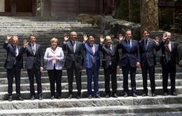 Hội nghị thượng đỉnh G7: Nhấn mạnh tầm quan trọng của việc giải quyết tranh chấp ở Biển Đông