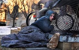 Giá lạnh kỷ lục đe dọa mạng sống của người vô gia cư tại Mỹ