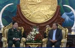 Tăng cường quan hệ Việt Nam - Lào