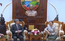 Việt Nam - Lào tăng cường hợp tác trong lĩnh vực kiểm tra Đảng