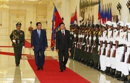 Thủ tướng Lào thăm chính thức Campuchia