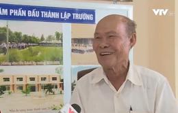 Cảm phục lão nông hiến đất xây trường ở Kiên Giang