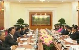 Đoàn đại biểu cấp cao Lào thăm chính thức Việt Nam
