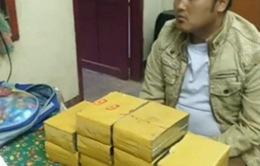 Bắt giữ đối tượng tàng trữ 20 bánh heroin