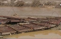 Nhiều nơi tại Lào Cai vẫn bị cô lập sau lũ quét