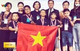 """5 """"lập trình viên nhí"""" Việt Nam giành huy chương tại WeCode quốc tế"""