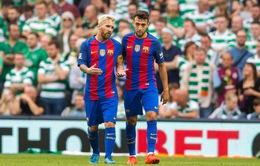 VIDEO Barcelona 3-1 Celtic: Messi trở lại nhưng chưa tỏa sáng