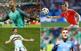 CHÍNH THỨC: Lịch tường thuật trực tiếp tứ kết EURO 2016 trên VTV