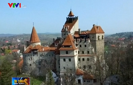 Độc đáo dịch vụ nghỉ đêm trong lâu đài ma Dracula
