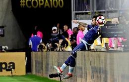 Lavezzi lỡ chung kết Copa America vì chấn thương lãng xẹt
