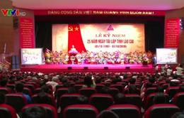 Kỷ niệm 25 năm tái lập tỉnh Lào Cai