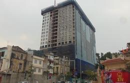 Rút ngắn thời gian phá dỡ tòa nhà 8B Lê Trực xuống còn 45 ngày