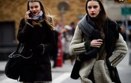 Sắc màu thời trang thanh lịch trên đường phố New York