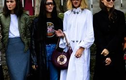 """""""Săm soi"""" áo khoác Thu - Đông cá tính ở Tuần lễ thời trang Paris"""