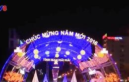 Rực rỡ con đường ánh sáng đón Tết Bính Thân 2016 tại Đà Nẵng