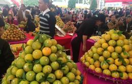 500 tấn cam Cao Phong được bán trong ngày khai mạc