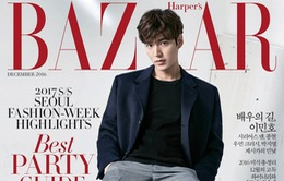 Ngất lịm với vẻ điển trai của Lee Min Ho trên trang bìa tạp chí Harper's Bazaar
