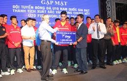 U19 Việt Nam nhận thưởng kỷ lục sau kỳ tích ở giải châu Á