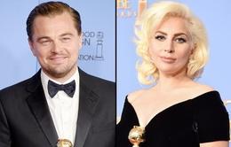 """Leo và Gaga bật cười vì khoảnh khắc """"khó đỡ"""" tại Quả cầu vàng 2016"""