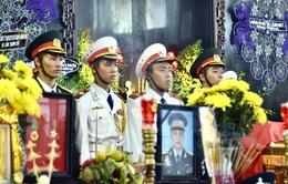 Lễ tang các đồng chí phi công máy bay EC-130T2 số hiệu VN-8632