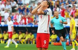 Ba Lan đi tiếp, Lewandowski vẫn gây thất vọng lớn tại EURO 2016
