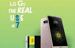 """LG G5 """"chọc ngoáy"""" Samsung Galaxy S7 khi vừa ra mắt"""