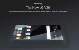 LG V20 - Smartphone đầu tiên lên kệ được cài sẵn Android 7.0 Nougat