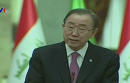 Tổng Thư ký Liên Hợp Quốc kêu gọi Iraq đoàn kết chống IS