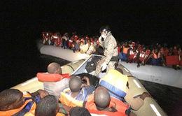 Giải cứu khoảng 1.400 người di cư ngoài khơi Libya