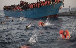 Cứu sống hơn 6.500 người di cư ngoài khơi Libya